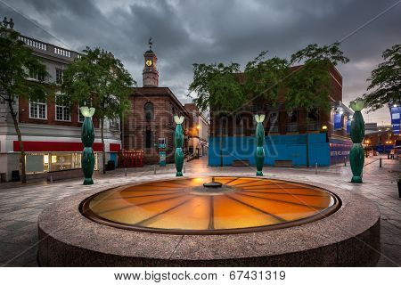 Warrington Town Centre
