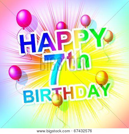 Happy Birthday Represents Fun Celebration And Celebrations