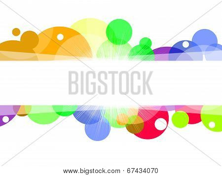 Copyspace Background Indicates Colourful Colorful And Bubble