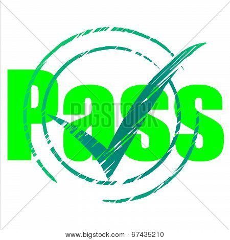 Pass Tick Indicates Yes Passing And Approve