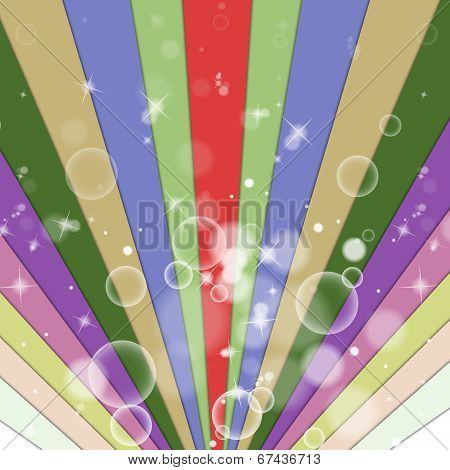 Color Background Shows Beam Backdrop And Multicolored