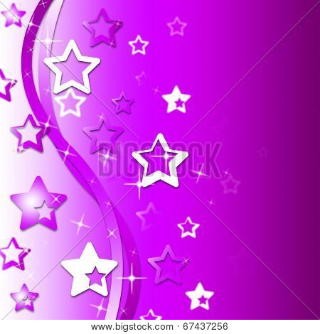 Glow Mauve Represents Text Space And Background