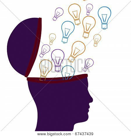 Think Idea Indicates Thoughts Consider And Considering