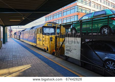 The Indian Pacific in Sydney