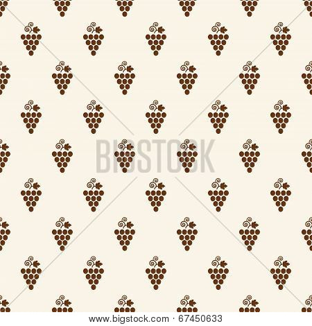 Grapes Seamless Pattern