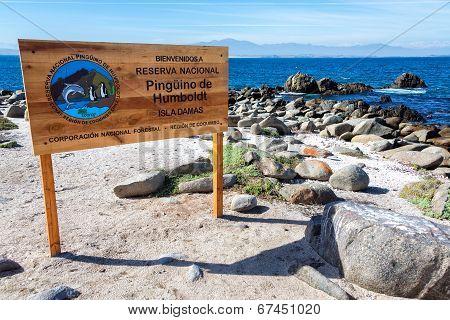 National Reserve Sign