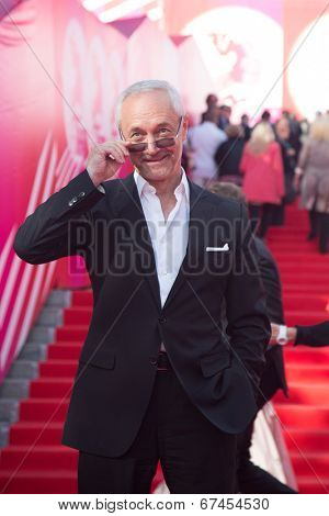 MOSCOW - JUNE, 19: Russian actor E.Gerasimov. 36th Moscow International Film Festival. Opening Ceremony at Pushkinsky Cinema . June 19, 2014 in Moscow, Russia