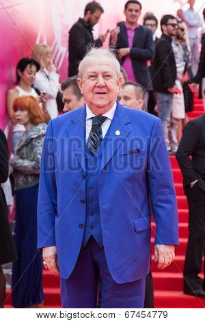 MOSCOW - JUNE, 19: Russian sculptor Zurab Tsaritelli. 36th Moscow International Film Festival. Opening Ceremony at Pushkinsky Cinema . June 19, 2014 in Moscow, Russia