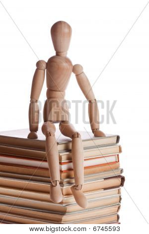 Men with many books