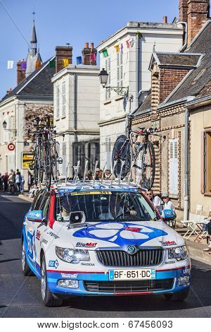 Technical Car Of Fdj Procycling Team