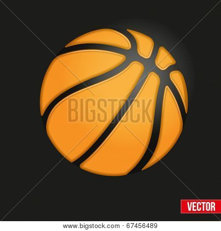 Symbol Soft Basketball Ball