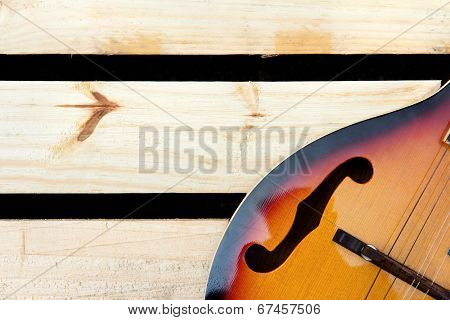 vintage mandolin background