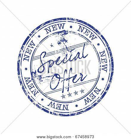 Special offer grunge rubber stamp