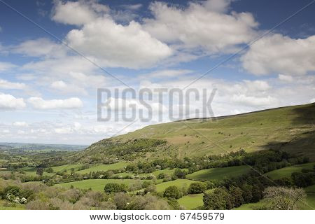 Welsh Countryside In The Brecon Beacons