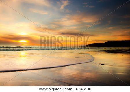 Big Califonia Sunset