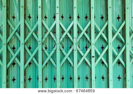 Old Metal Doors .