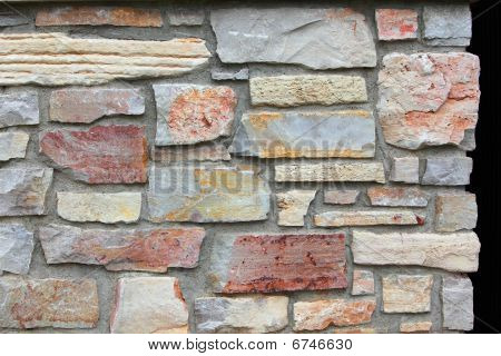 Color Brick Wall