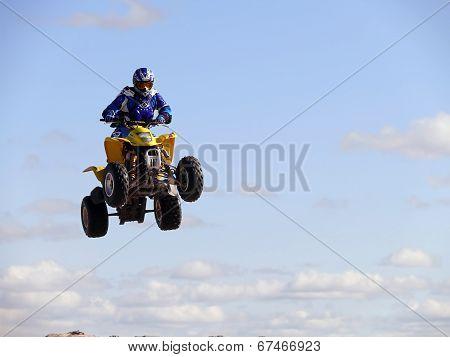 Jump On Quadrocycle.