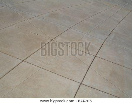 Curved Prestigious Walkway