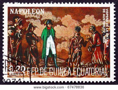 Postage Stamp Equatorial Guinea 1972 Battle Of Austerlitz