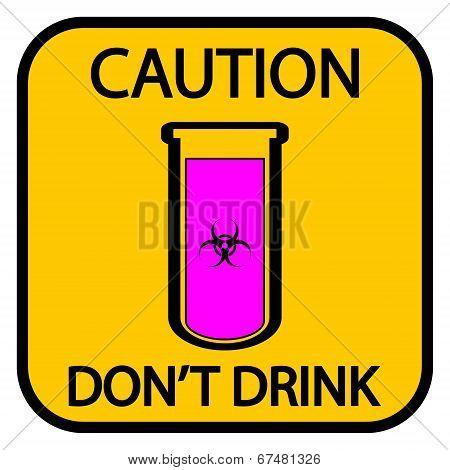Danger Biohazard Sign