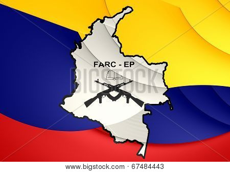 Flag Of Farc-ep