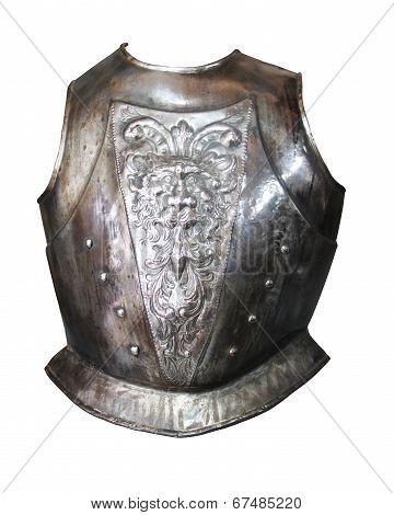 Toledo Armor Isolated On White Background