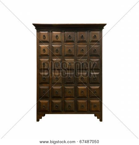 Old Fashioned Chinese Cabinet