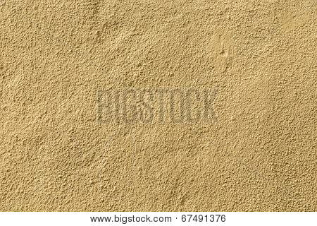 Ocher Wall Background Gives A Harmonic Pattern
