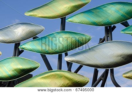 The Shoal sculpture, Stratford