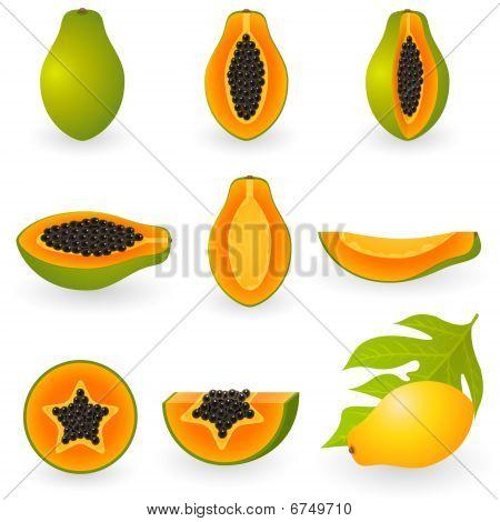 Icon Set Papaya