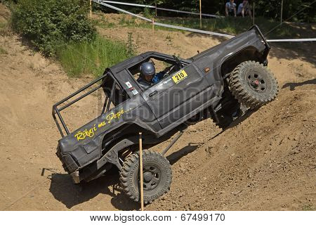 Black Off Road Car