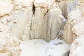 stock photo of israel israeli jew jewish  - beautiful photos of dead sea cliffs - JPG