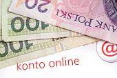 stock photo of zloty  - Banking - JPG