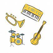picture of drum-kit  - Trumpet - JPG