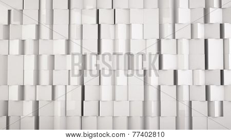 white background from cubes, you can overlay your own image