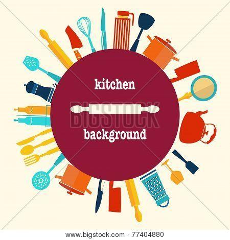 Kitchen Utensil-background