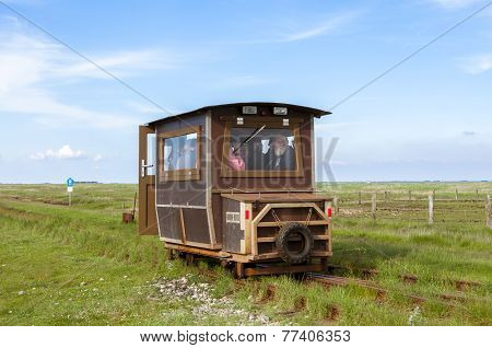 Tourist Transport to Hallig Langeness