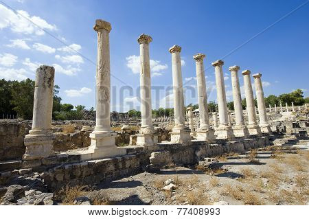 Ruins Of Beit She'an