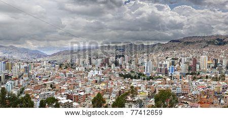 La Paz City Panorama