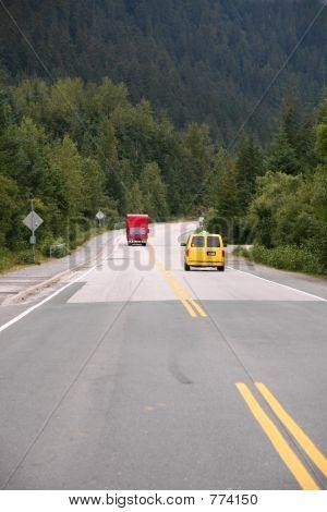 Red Truck, Yellow Van
