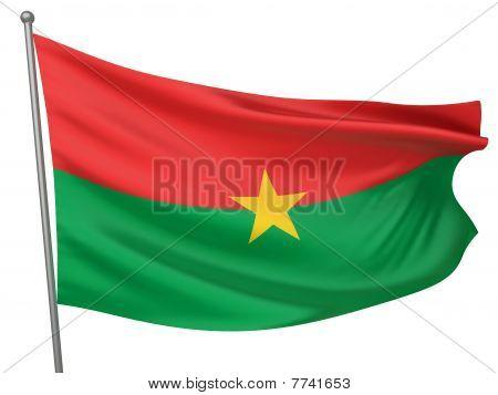 Burkina Faso National Flag