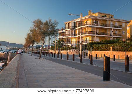 Cala Estancia street