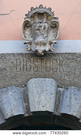 Historical Palace. Satriano di Lucania. Italy.