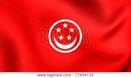 Civil Ensign Of Singapore