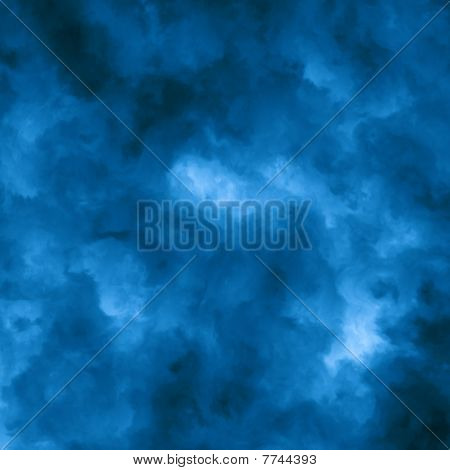 Abstract Blue Cloud achtergrond