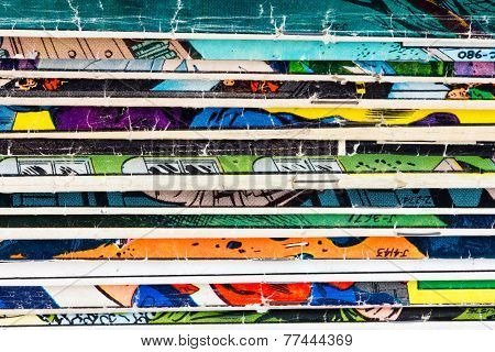 Comic Book Paper Background