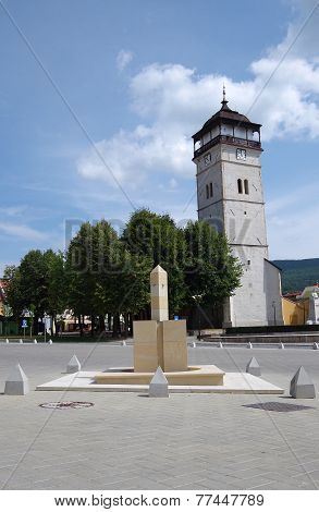 The Town Tower, City Roznava, Slovakia