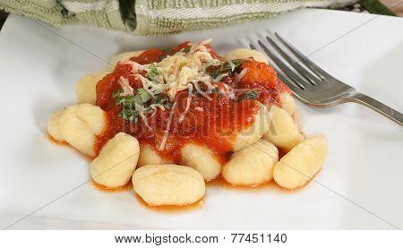 Gnocchi In Arrabbatia Sauce
