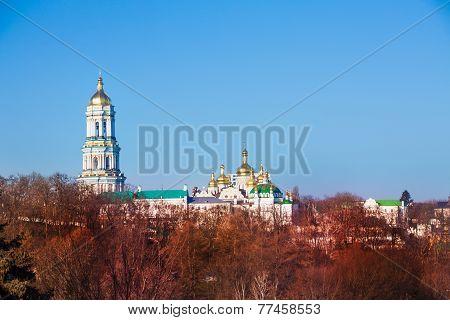 Kyiv Pechersk Lavra panorama in Ukraine